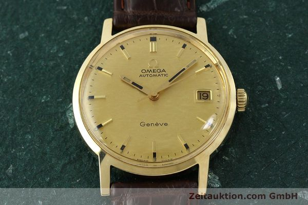 Used luxury watch Omega * 14 ct yellow gold automatic Kal. 565  | 142932 14