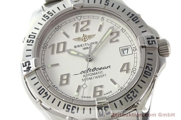 Used luxury watch Breitling Colt Oceane steel automatic Kal. B17 ETA 2824-2 Ref. A17350  | 142933 02