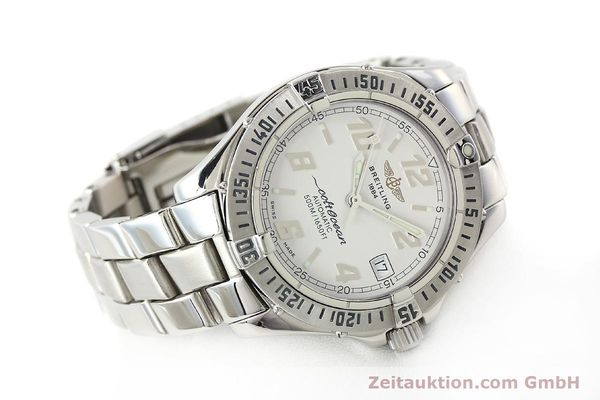 Used luxury watch Breitling Colt Oceane steel automatic Kal. B17 ETA 2824-2 Ref. A17350  | 142933 03