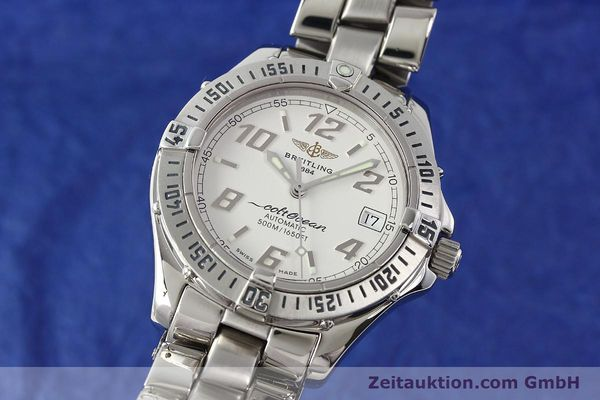 Used luxury watch Breitling Colt Oceane steel automatic Kal. B17 ETA 2824-2 Ref. A17350  | 142933 04