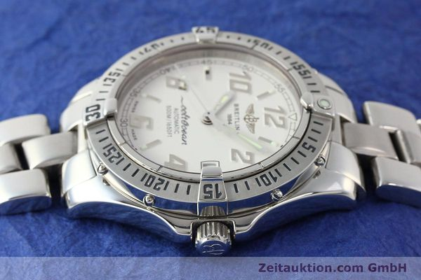 Used luxury watch Breitling Colt Oceane steel automatic Kal. B17 ETA 2824-2 Ref. A17350  | 142933 05