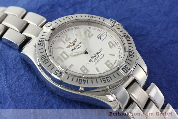 Used luxury watch Breitling Colt Oceane steel automatic Kal. B17 ETA 2824-2 Ref. A17350  | 142933 16