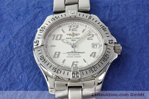 Used luxury watch Breitling Colt Oceane steel automatic Kal. B17 ETA 2824-2 Ref. A17350  | 142933 17