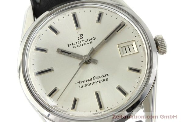 Used luxury watch Breitling Transocean steel automatic Kal. AS 1903 Ref. 11080  | 142935 02