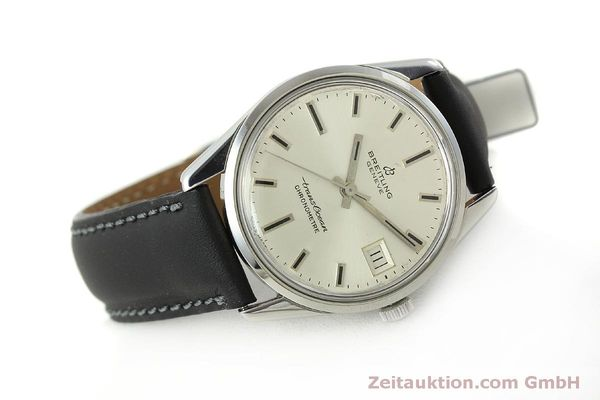 Used luxury watch Breitling Transocean steel automatic Kal. AS 1903 Ref. 11080  | 142935 03