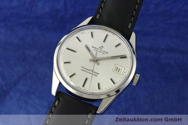 Used luxury watch Breitling Transocean steel automatic Kal. AS 1903 Ref. 11080  | 142935 04