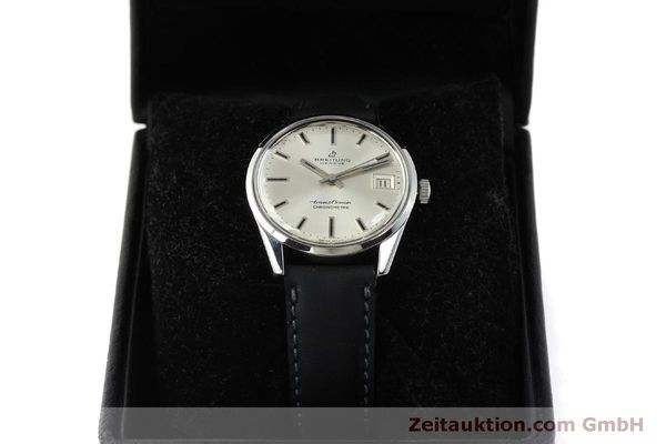 Used luxury watch Breitling Transocean steel automatic Kal. AS 1903 Ref. 11080  | 142935 07