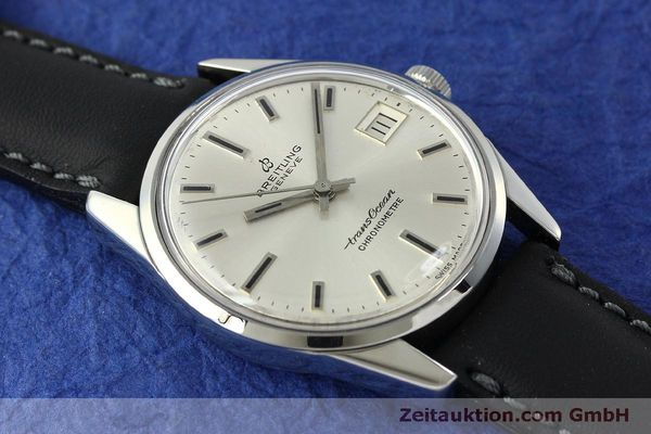 Used luxury watch Breitling Transocean steel automatic Kal. AS 1903 Ref. 11080  | 142935 14