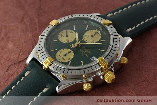 Used luxury watch Breitling Chronomat chronograph steel / gold automatic Kal. B13 ETA 7750 Ref. B13048  | 142936 01
