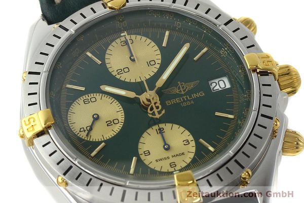 Used luxury watch Breitling Chronomat chronograph steel / gold automatic Kal. B13 ETA 7750 Ref. B13048  | 142936 02