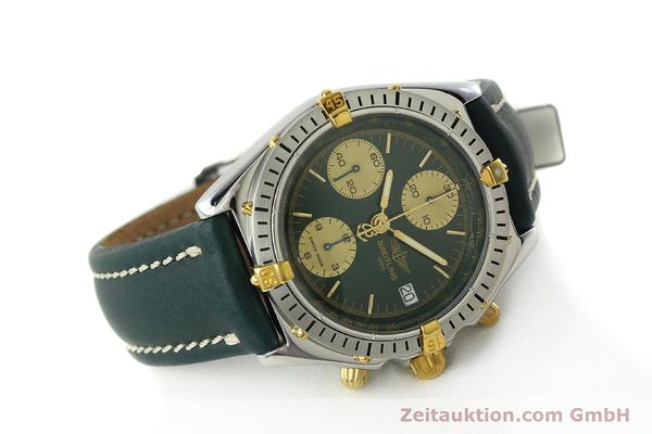 Used luxury watch Breitling Chronomat chronograph steel / gold automatic Kal. B13 ETA 7750 Ref. B13048  | 142936 03
