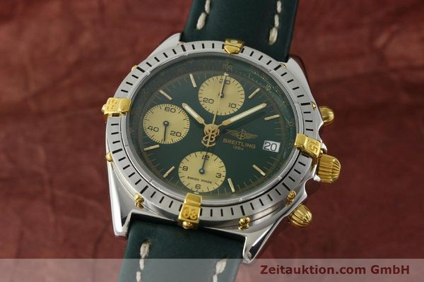 Used luxury watch Breitling Chronomat chronograph steel / gold automatic Kal. B13 ETA 7750 Ref. B13048  | 142936 04