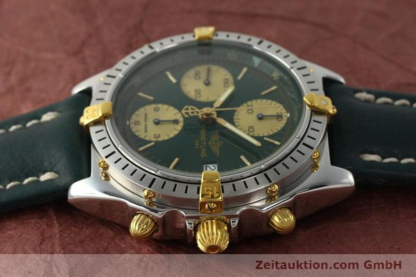 Used luxury watch Breitling Chronomat chronograph steel / gold automatic Kal. B13 ETA 7750 Ref. B13048  | 142936 05