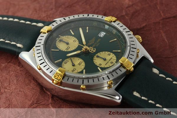 Used luxury watch Breitling Chronomat chronograph steel / gold automatic Kal. B13 ETA 7750 Ref. B13048  | 142936 15