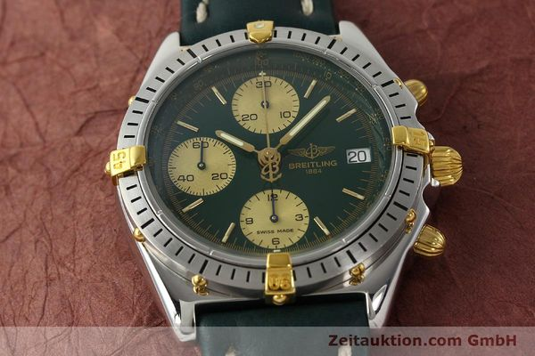 Used luxury watch Breitling Chronomat chronograph steel / gold automatic Kal. B13 ETA 7750 Ref. B13048  | 142936 16