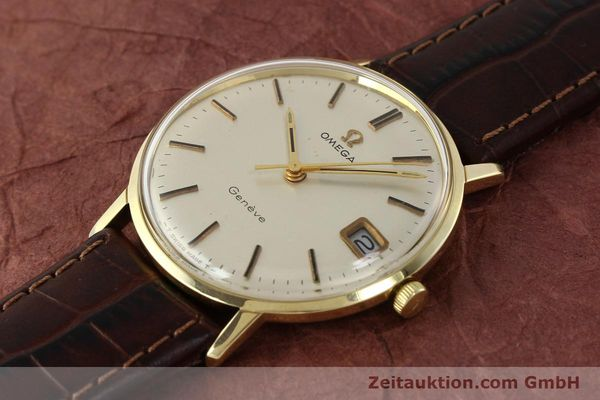 Used luxury watch Omega * 14 ct yellow gold manual winding Kal. 613 Ref. 136030  | 142940 01