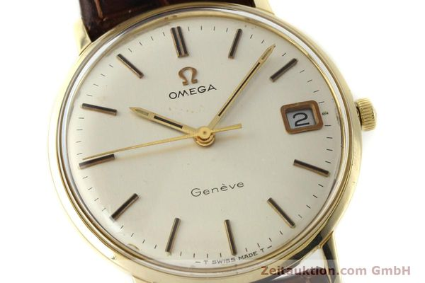 Used luxury watch Omega * 14 ct yellow gold manual winding Kal. 613 Ref. 136030  | 142940 02