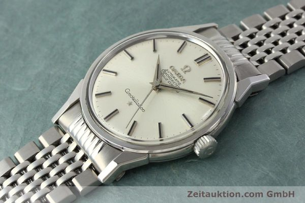 Used luxury watch Omega Constellation steel automatic Kal. 551 Ref. 167.005  | 142941 01