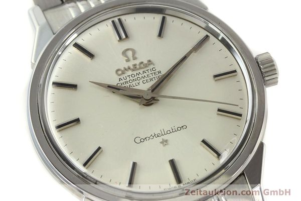 Used luxury watch Omega Constellation steel automatic Kal. 551 Ref. 167.005  | 142941 02