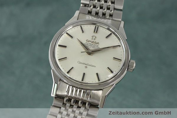 Used luxury watch Omega Constellation steel automatic Kal. 551 Ref. 167.005  | 142941 04