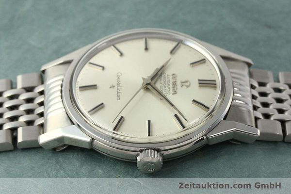 Used luxury watch Omega Constellation steel automatic Kal. 551 Ref. 167.005  | 142941 05