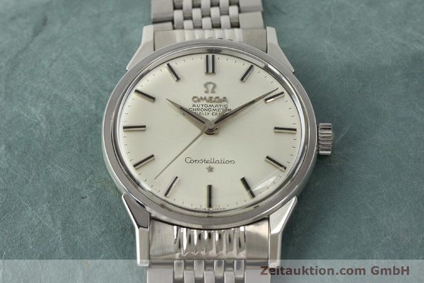 Used luxury watch Omega Constellation steel automatic Kal. 551 Ref. 167.005  | 142941 15