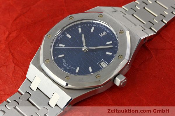 Used luxury watch Audemars Piguet Royal Oak steel automatic Kal. 2225 Ref. 15100ST/0/0789ST/01/478814  | 142948 01