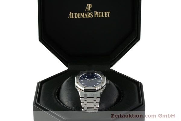 Used luxury watch Audemars Piguet Royal Oak steel automatic Kal. 2225 Ref. 15100ST/0/0789ST/01/478814  | 142948 07