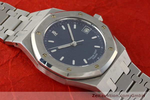Used luxury watch Audemars Piguet Royal Oak steel automatic Kal. 2225 Ref. 15100ST/0/0789ST/01/478814  | 142948 15