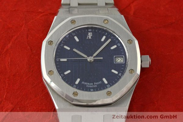 Used luxury watch Audemars Piguet Royal Oak steel automatic Kal. 2225 Ref. 15100ST/0/0789ST/01/478814  | 142948 16