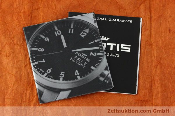 Used luxury watch Fortis Spacematic steel automatic Kal. ETA 2836-2 Ref. 623.22.158  | 142949 08