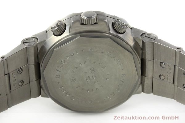 Used luxury watch Bvlgari Diagono steel automatic Kal. 8002-MBBA Ref. SC38S  | 142950 09