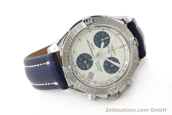 Used luxury watch Breitling Colt chronograph steel quartz Kal. B53 ETA 251.262 Ref. A53350  | 142952 03