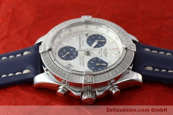 Used luxury watch Breitling Colt chronograph steel quartz Kal. B53 ETA 251.262 Ref. A53350  | 142952 05
