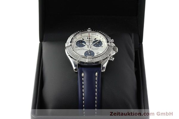 Used luxury watch Breitling Colt chronograph steel quartz Kal. B53 ETA 251.262 Ref. A53350  | 142952 07