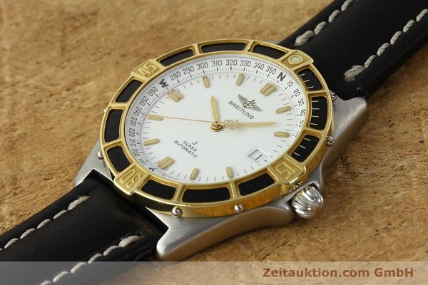 Used luxury watch Breitling J-Class steel / gold automatic Kal. ETA 2892-2 Ref. 80250  | 142953 01