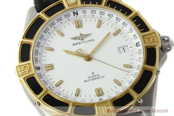 Used luxury watch Breitling J-Class steel / gold automatic Kal. ETA 2892-2 Ref. 80250  | 142953 02