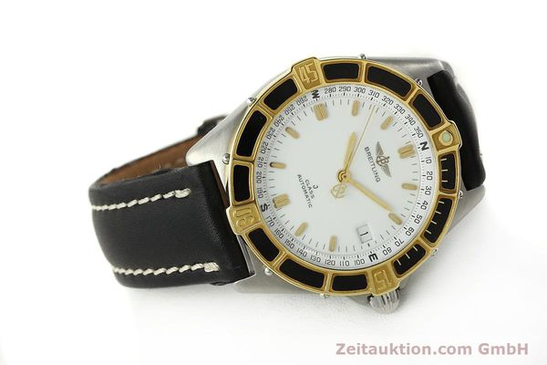 Used luxury watch Breitling J-Class steel / gold automatic Kal. ETA 2892-2 Ref. 80250  | 142953 03