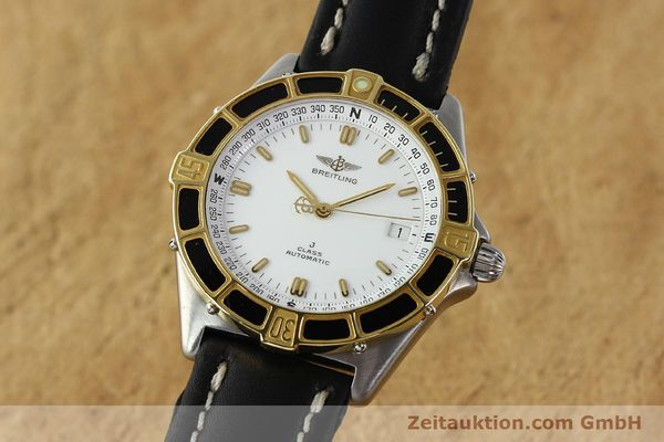 Used luxury watch Breitling J-Class steel / gold automatic Kal. ETA 2892-2 Ref. 80250  | 142953 04