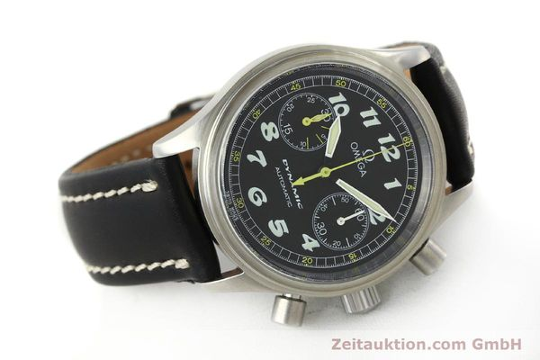 Used luxury watch Omega Dynamic chronograph steel automatic Kal. 1138  | 142955 03