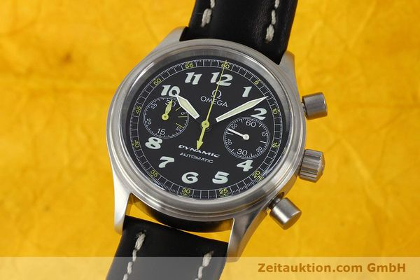 Used luxury watch Omega Dynamic chronograph steel automatic Kal. 1138  | 142955 04