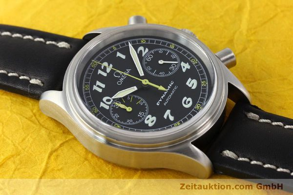 Used luxury watch Omega Dynamic chronograph steel automatic Kal. 1138  | 142955 14