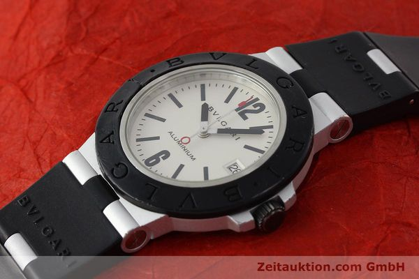 Used luxury watch Bvlgari Diagono aluminium automatic Kal. 220 Ref. AL38A  | 142956 01
