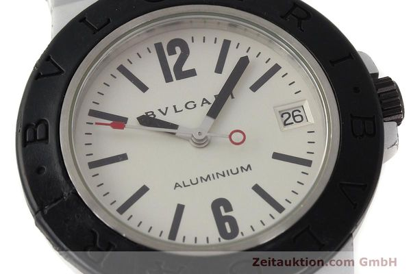 Used luxury watch Bvlgari Diagono aluminium automatic Kal. 220 Ref. AL38A  | 142956 02