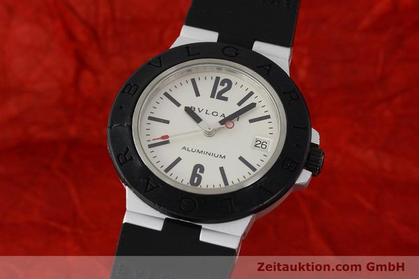 Used luxury watch Bvlgari Diagono aluminium automatic Kal. 220 Ref. AL38A  | 142956 04