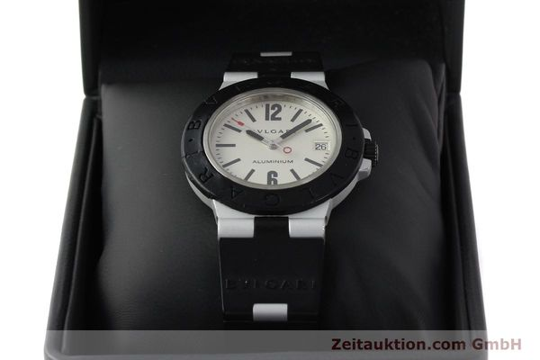 Used luxury watch Bvlgari Diagono aluminium automatic Kal. 220 Ref. AL38A  | 142956 07