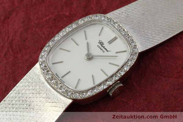 Used luxury watch Chopard * 18 ct white gold manual winding Kal. 846  | 142957 01