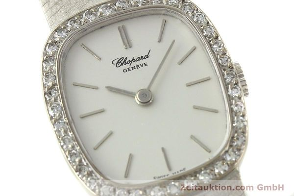 Used luxury watch Chopard * 18 ct white gold manual winding Kal. 846  | 142957 02
