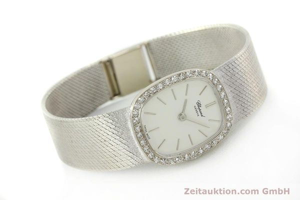 Used luxury watch Chopard * 18 ct white gold manual winding Kal. 846  | 142957 03