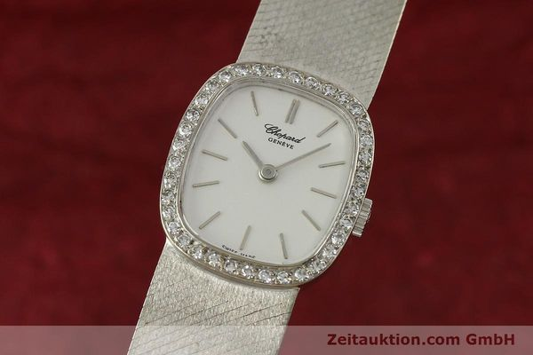 Used luxury watch Chopard * 18 ct white gold manual winding Kal. 846  | 142957 04